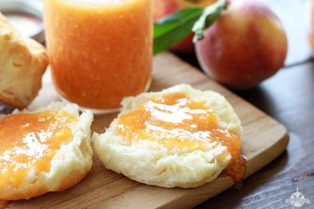 Peach Freezer Jam 1