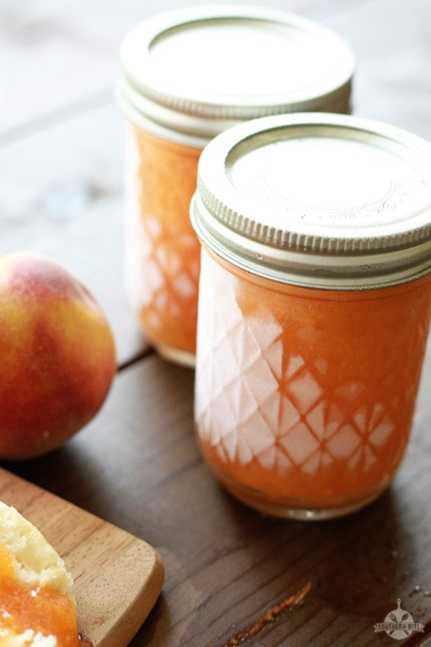 Peach Freezer Jam - Southern Bite