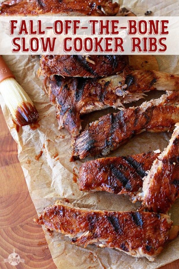 Slow Cooker Ribs - Pinterest