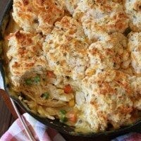 Cheesy Biscuit Topped Chicken Pot Pie1
