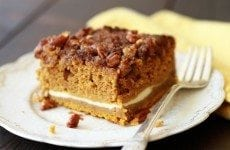 Pumpkin Cream Cheese Crunch Cake