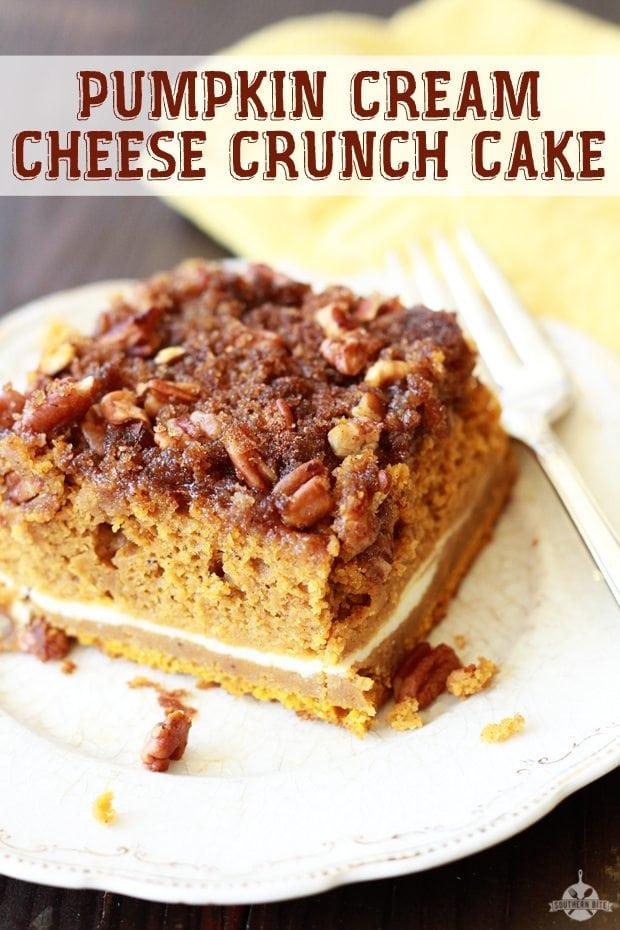 Pumpkin Pecan Crunch Cake Recipe