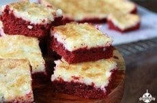 Red Velvet Gooey Butter Cake