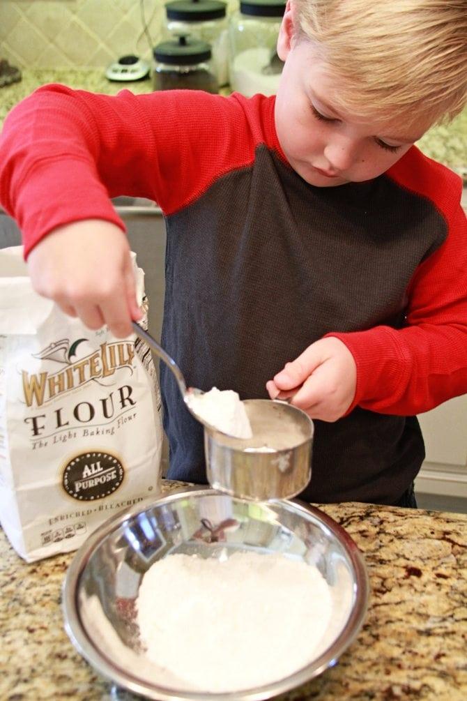 Spooning Flour