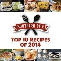 Top 10 Recipe of 2014 from SouthernBite.com