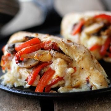 Cheesy Stuffed Chicken