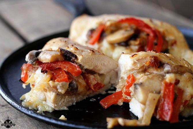 Cheesy Stuffed Chicken - SouthernBite