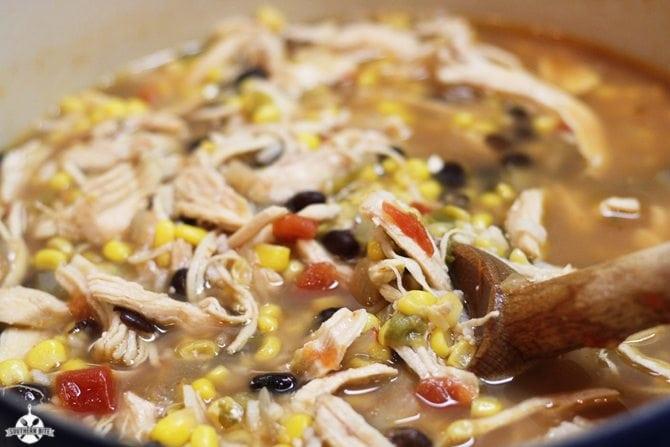 Fiesta Chicken Soup - SouthernBite