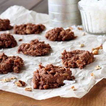 Loaded No-Bake Cookies