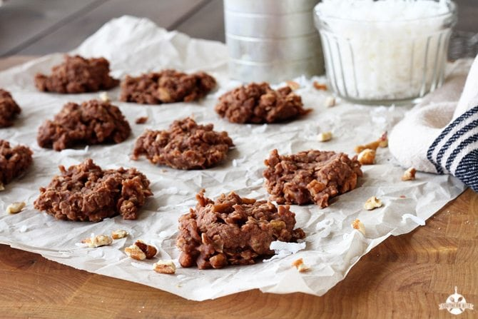 Loaded No-Bake Cookies  - Southern Bite