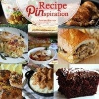 Recipe Pinspiration 3-15