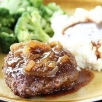 Easy Hamburger Steaks