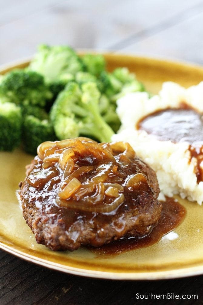 This recipe for Easy Hamburger Steaks is a family favorite! They're so easy and super delicious!