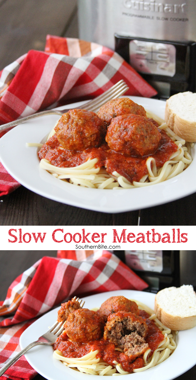 The post Slow Cooker Meatballs appeared first on Southern Bite.