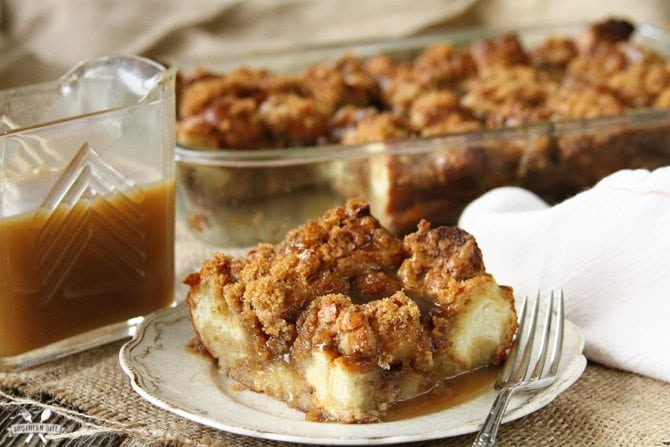 This is seriously The Best Bread Pudding I've ever had! Decadent and over the top is an understatement!