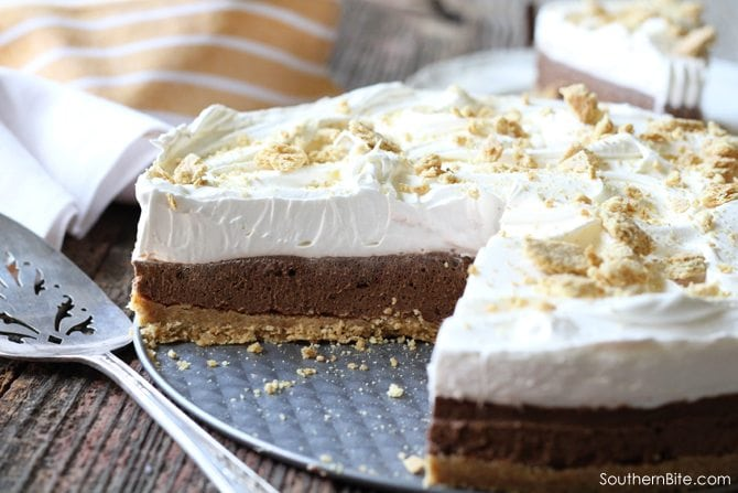 No-Bake S'mores Cheesecake