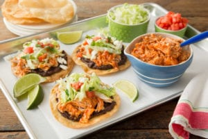 BBQ Chicken Tostadas and July 4th Giveaway - Southern Bite