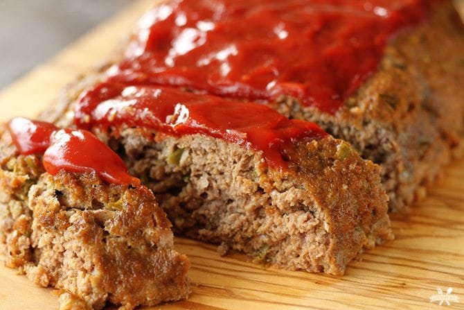 Secret Ingredient Meatloaf Southern Bite