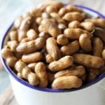 Using a slow cooker makes these boiled peanuts even easier!