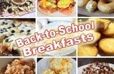 Great idea for easy back-to-school breakfasts!