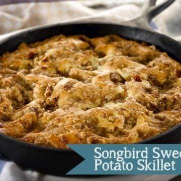 Songbird Sweet Potato Skillet & The CMA Awards (Giveaway)