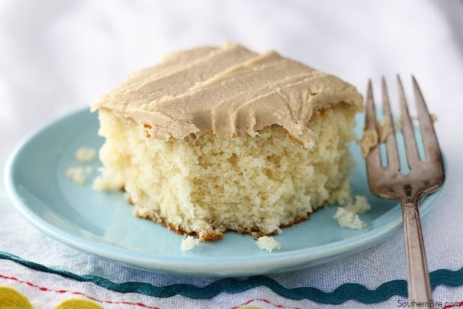 Caramel Cake can be a little intimidating but this easy recipe will have you enjoying this delicious treat in no time!