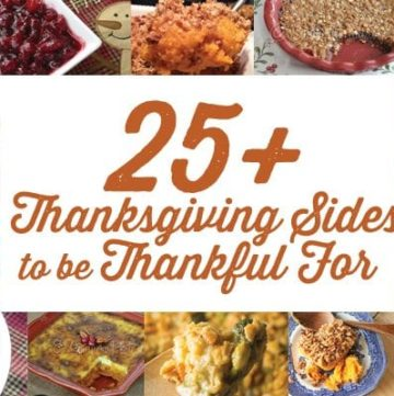 Thanksgiving Sides to be Thankful for!