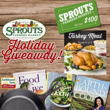 Sprouts Holiday Giveaway! (3 Winners)