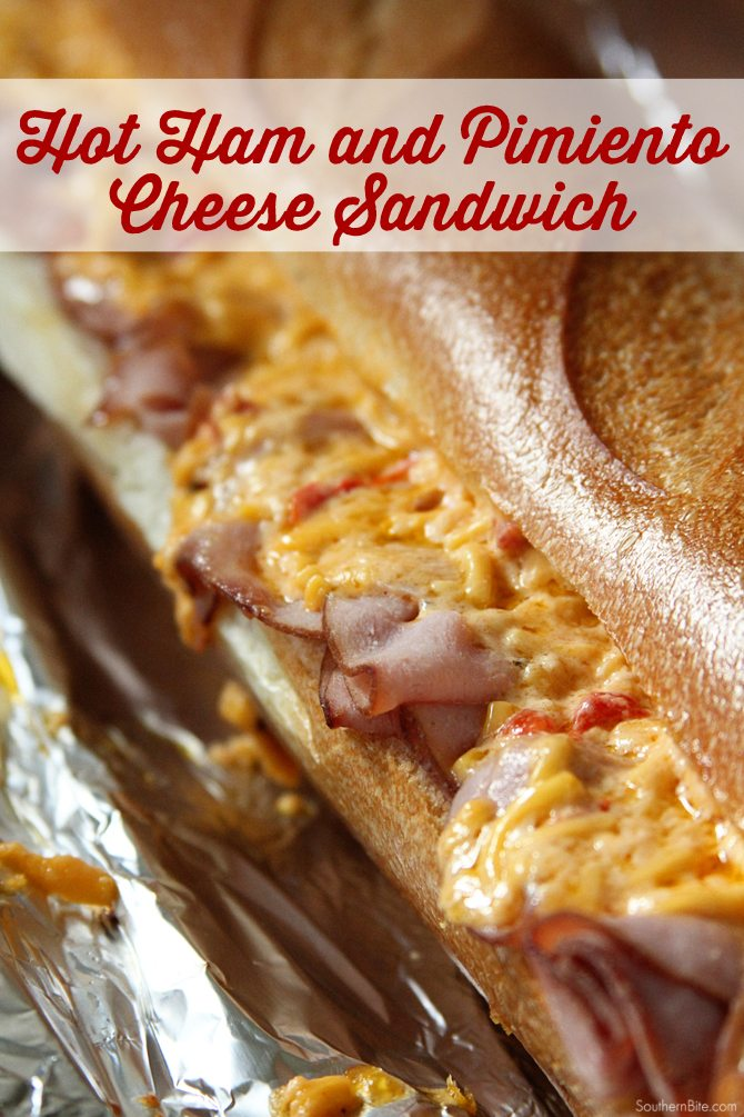 The gooey cheese and smoked ham in this Hot Ham and Pimiento Cheese sandwich recipe make it truly special!