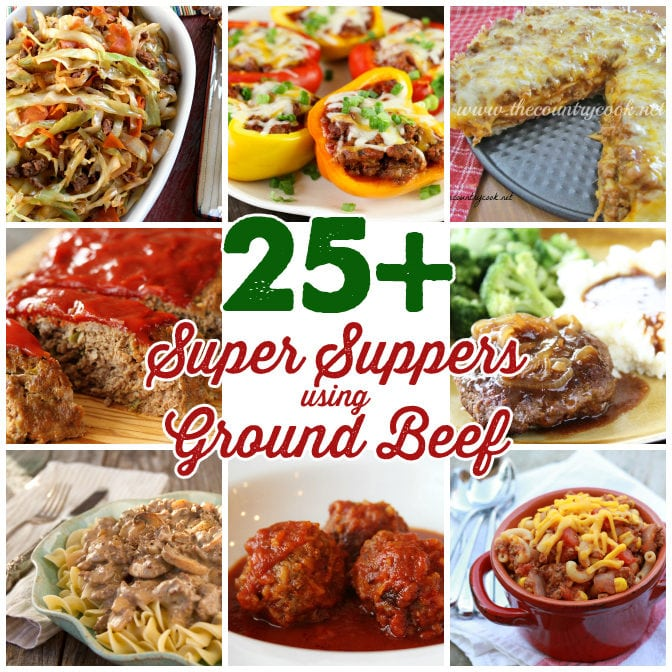 25 super supper recipes with ground beef southern bite for Different meal ideas for ground beef