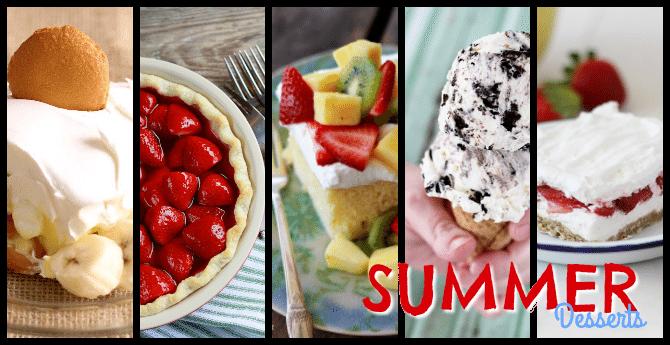 5 Summer Desserts