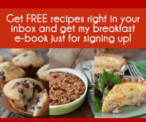 Sign Up for Free Recipes!