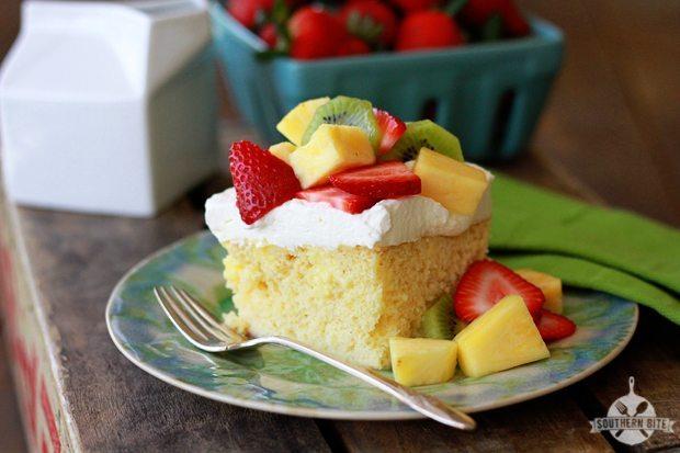 Tres Leches (3-Milk) Poke Cake