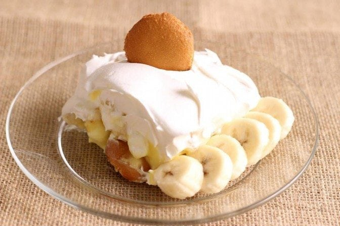 Throw the preconceived notions about Banana Pudding out the window with this one!  So fresh and summery!