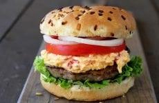 Pimineto Cheese Brat Burger 2