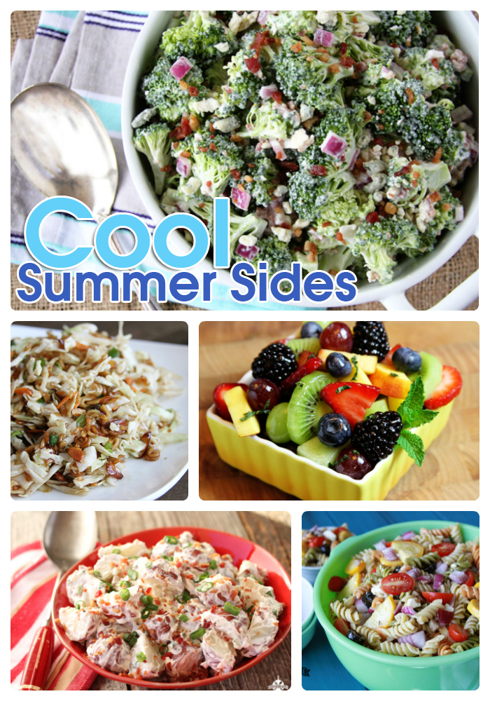 This collection of cool summer sides will have you totally chill in the heat!
