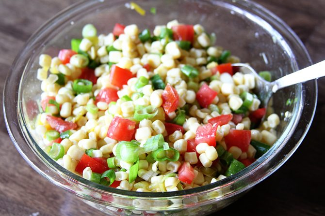 Corn Salad - Mixed