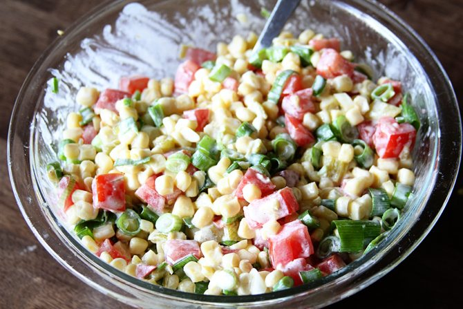 This Amazingly Easy Corn Salad Is The Perfect Side For Your Summer Bbq And Since It S