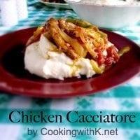 Chicken Cacciatoe CU 1