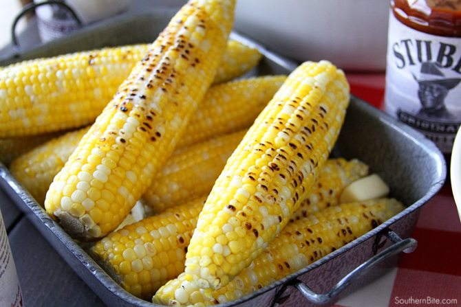 This Amazingly Easy Grilled Corn is so easy, you won't believe it!