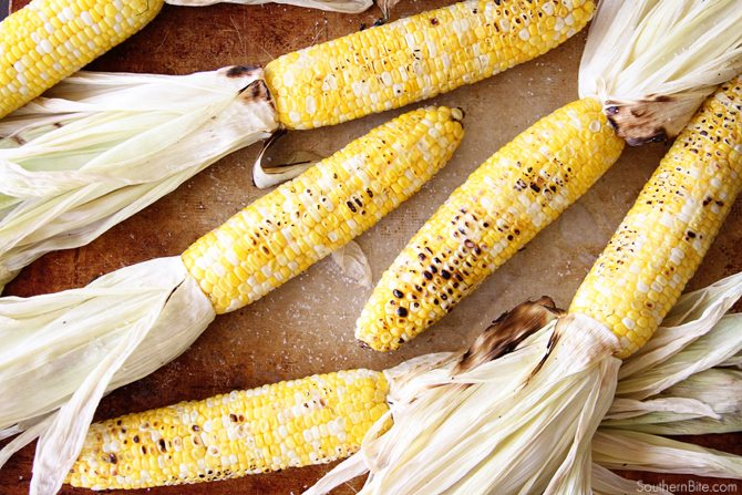 You won't believe how amazingly easy this Amazingly Easy Grilled Corn is! Even the shucking is made easy! You won't want it any other way after you try it!