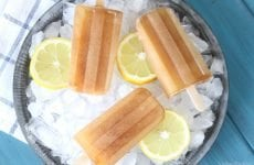 Beat the oppressive summer heat with these amazingly easy Sweet Tea Ice Pops!