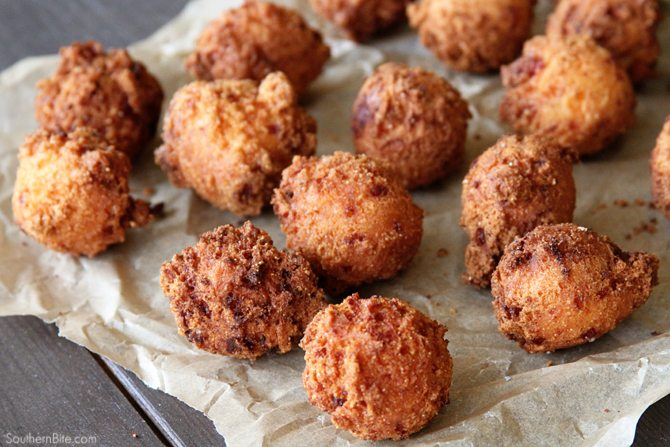Pimiento Cheese Hush Puppies Southern Bite