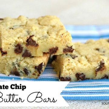 Chocolate Chip Butter Bars