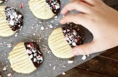 These Chocolate-Tipped Butter Cookies are buttery, tender, and are so fun to customize!