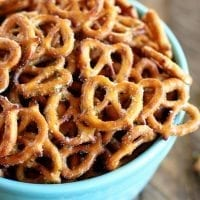 These Crack Pretzels are seriously one of the most addictive snacks I've ever had! So easy and SO delicious!