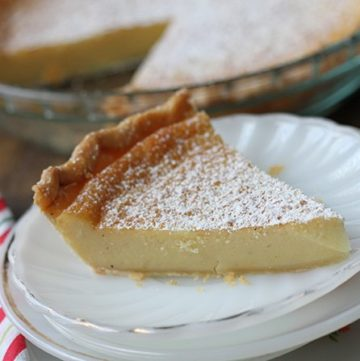 Eggnog Chess Pie