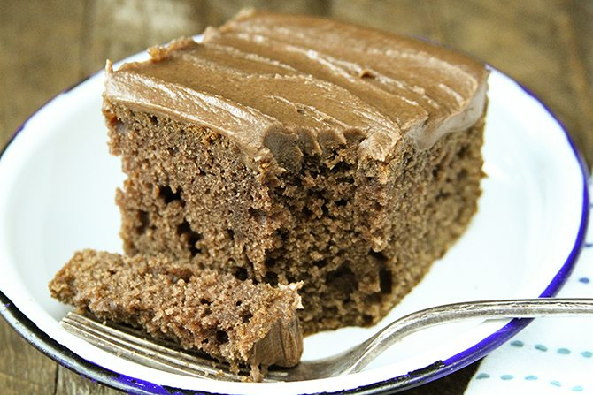 You Wont Find A More Buttery Dense Delicious Chocolate Cake Recipe Than