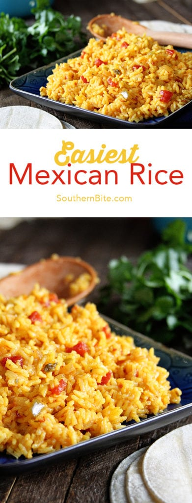 You won't find an easier way to make delicious Mexican Rice!