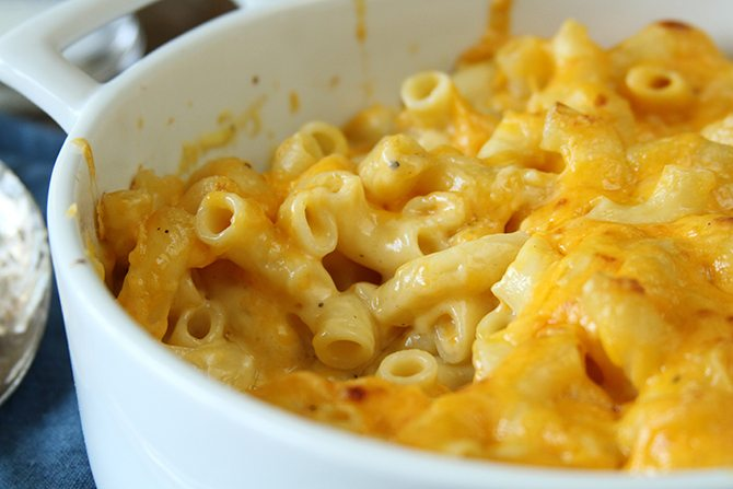 how to cook baked macaroni and cheese